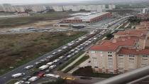 Ispartakule ve Bahçeşehir Kısmına Bir Yeni Trafik Şoku Daha !